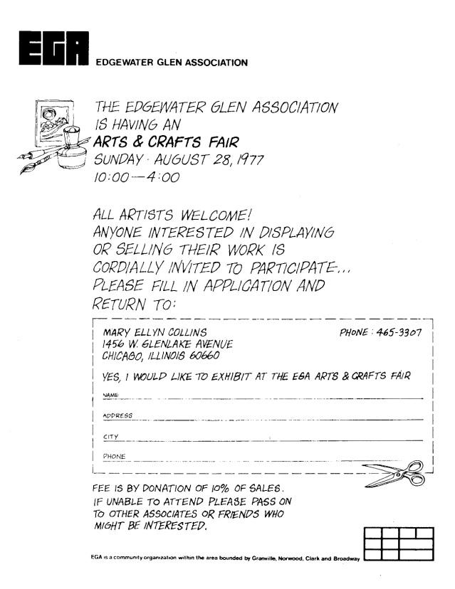 EGA Art Fair August 1977 (2)