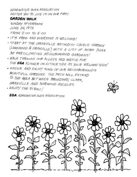 EGA Garden Walk June  1973 (2)