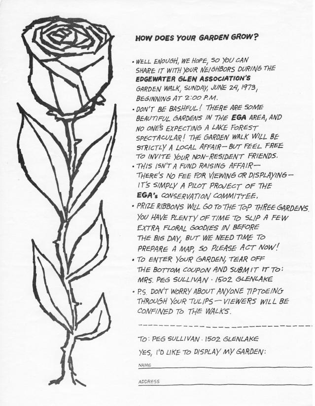 EGA Garden Walk Sign-Up June 1973 (2)