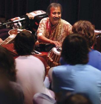 Sandip Burman- New York Clinic- Tabla