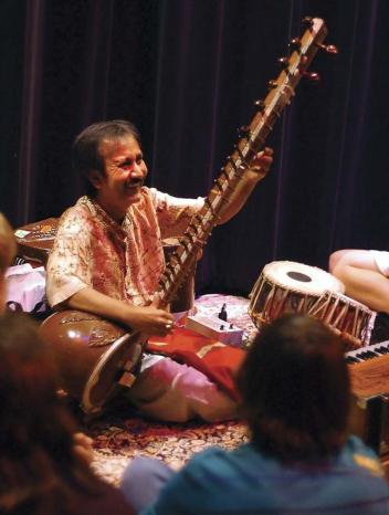 Sandip Burman- Sitar Photo