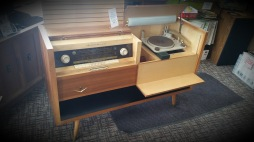 3 Door Grundig Majestic record player