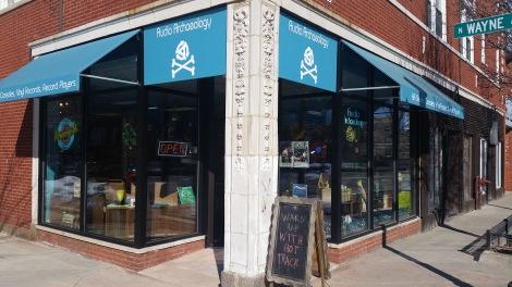 Audio Archaeology Storefront