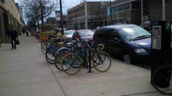 2:30 - Bike parking