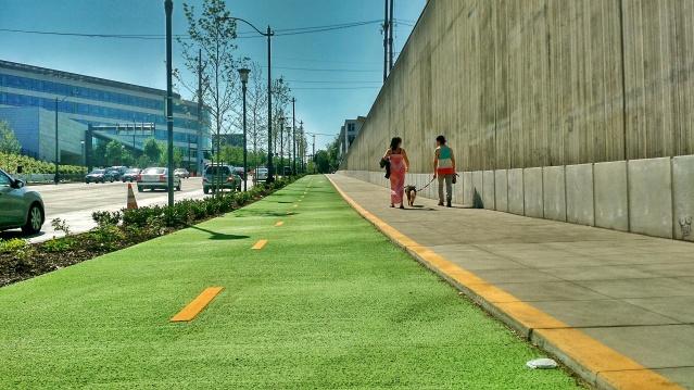 Seattle Bike Lane