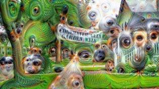 deepdream_Edgewater Glen Garden Walk